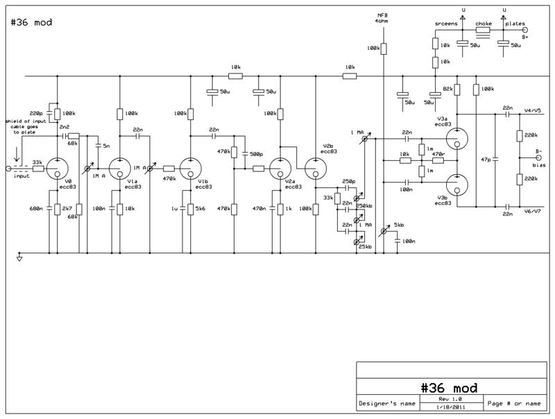 Схема однотактного усилителя мощности фото 766