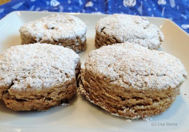 Lemon Polvoron Cookies Polvorones De Limon