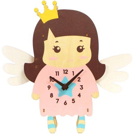 Better Homes And Gardens Princess Pendulum Clock, Multicolor