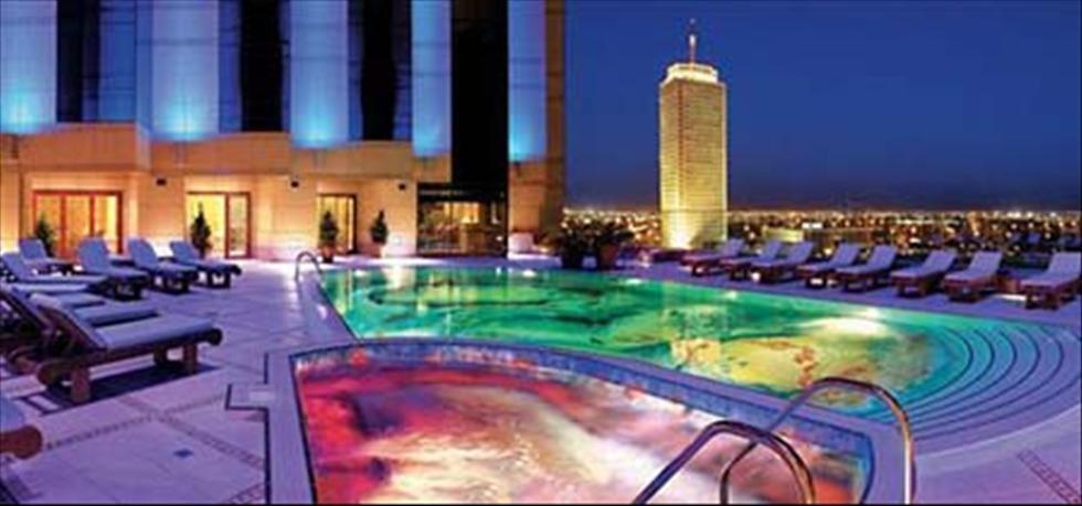 Dokuz Rooftop Lounge Dubai Hotel Fairmont Dubai Fairmont Hotel