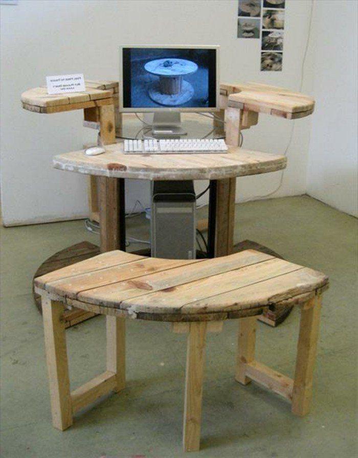 Coole Sachen Zum Selber Machen Recycling Schreibtisch Wohnen In
