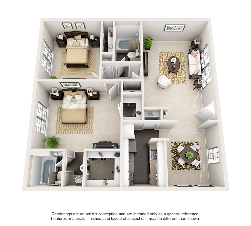 Pet-Friendly 1, 2, and 3 Bedroom Apartments in Bellaire ...