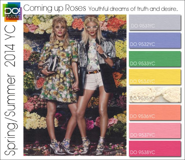 SS 14 YC 3 COMING UP ROSES w color