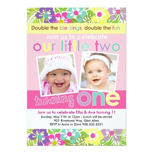 292 Best Twins Birthday Party Invitations Images In 2020