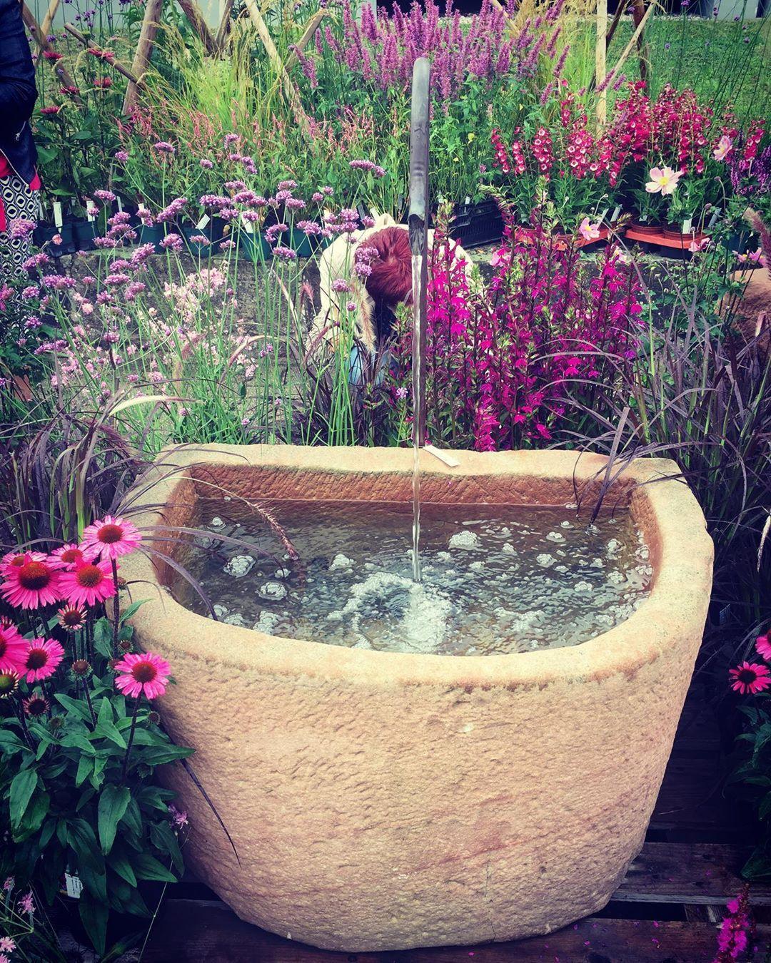 Gartengestaltung Gartentraum Gartenideen Wasser Wasserspiel Ruhepol Garten Ideen Garten Gartengestaltung