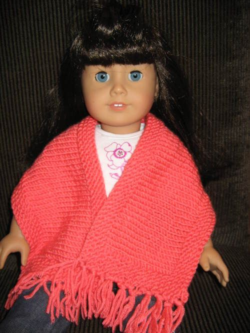 prayer shawl for 18 inch dolls | muñecas | Pinterest | Muñecas