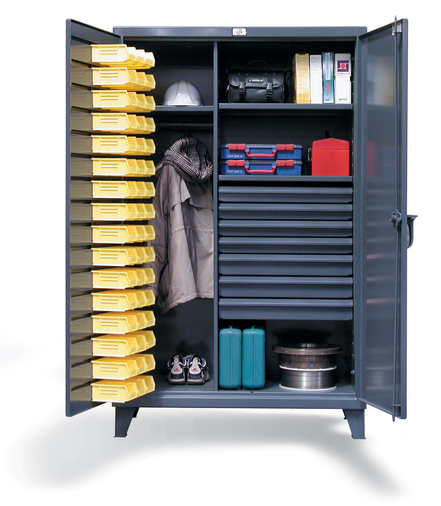 Strong Hold Products Industrial Storage Cabinets Wardrobe