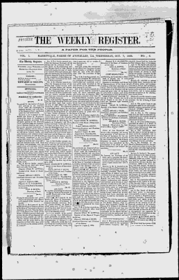 The Weekly Register - Markesville, LA Google News Archive Search