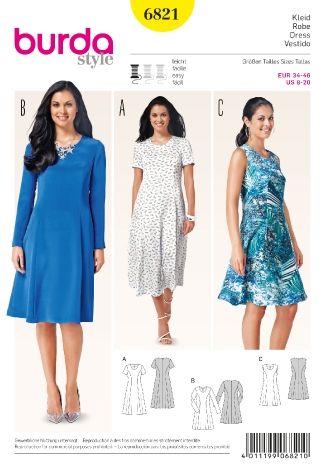 6821 ESB | magda | Pinterest | Sommerkleider und Nähen