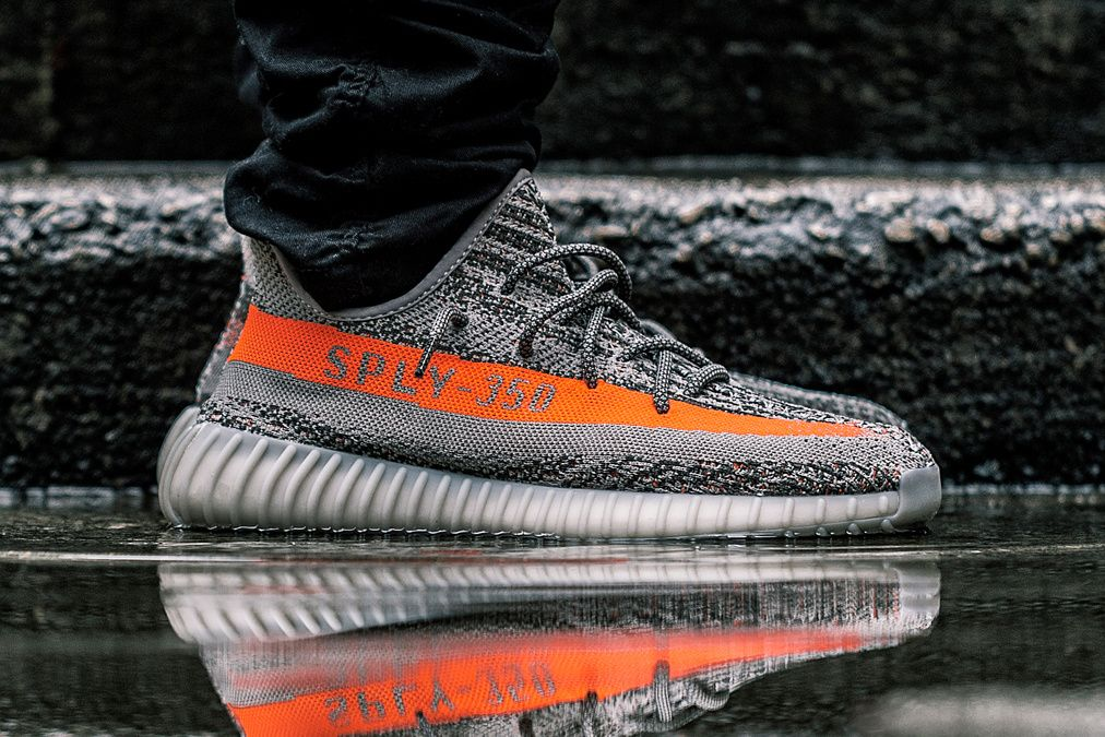 Yeezy Boost 350 V2 Grey Orange