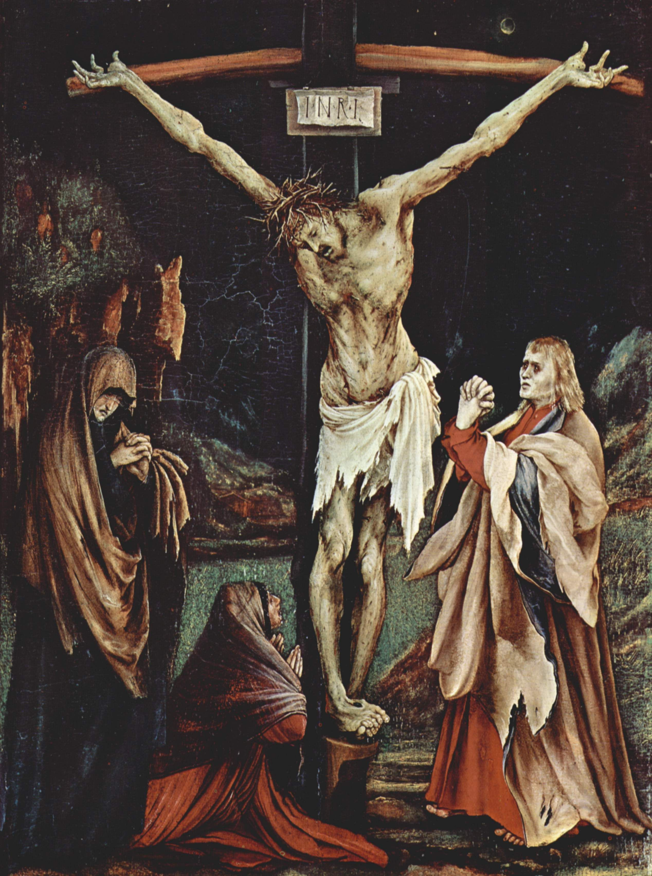 Matthias Grunewald (1502)  The Crucifixion