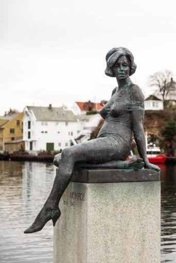 Памятник Мэрилин Монро в Норвегии: фото и история создания ...