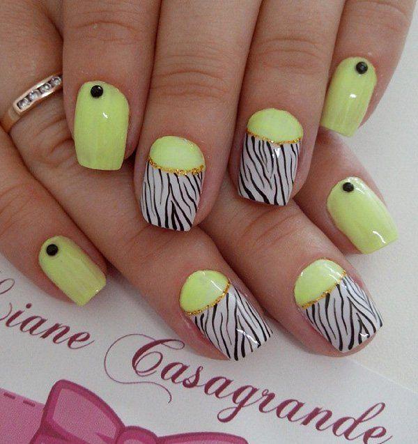 How To Make Neon Yellow Nail Polish