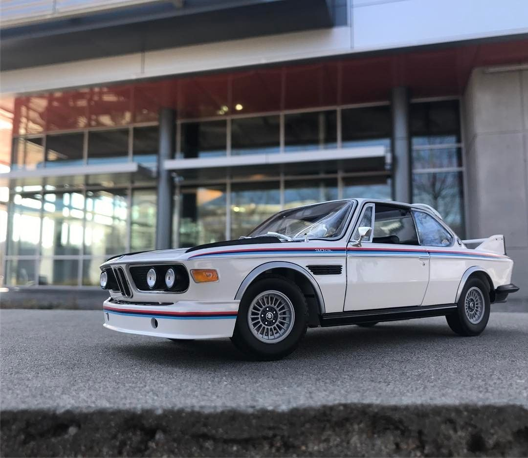 Pin By Andrew Garberolio On Bentley: Minichamps E9 BMW 3.0 CSL (Dealer Edition) - White