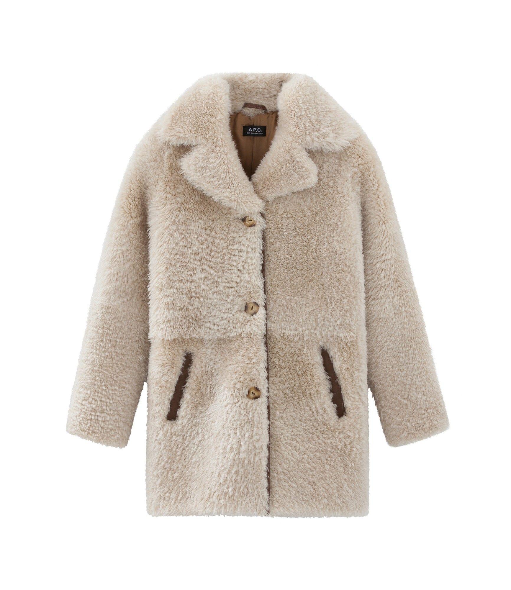 b798212377 A.P.C. Katia coat