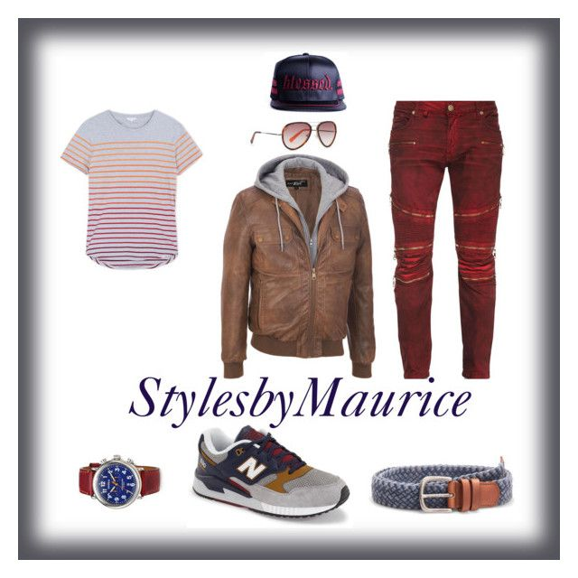 look for 1bbb8 52fe4 by mauricee-brewer on Polyvore featuring Robin s Jean, Black Rivet, New  Balance, Orlebar Brown, Shinola, MANGO, HOOK LDN, mens, men and men s wear.