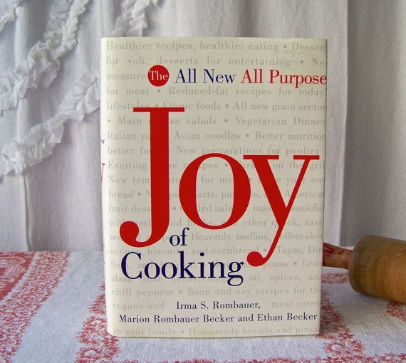 Vintage Joy Of Cooking 1997 Revised Edition Irma by CynthiasAttic