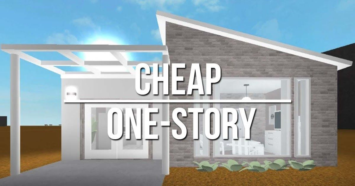 Bloxburg Living Room Ideas Cheap In 2020 Cute Small Houses