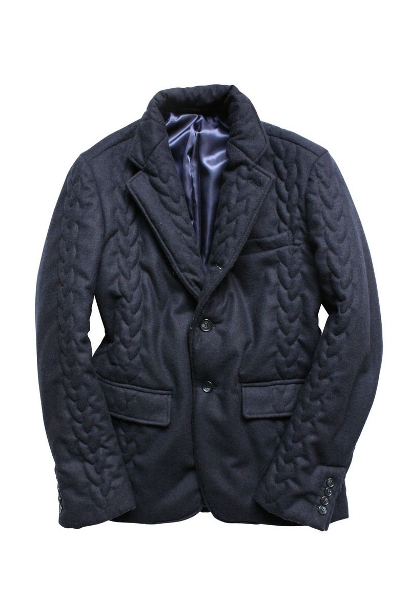 CABLE QUILTING 3B JACKET