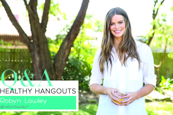 Healthy Hangouts: 5 Minutes with Supermodel Robyn Lawley - The Fit Foodie