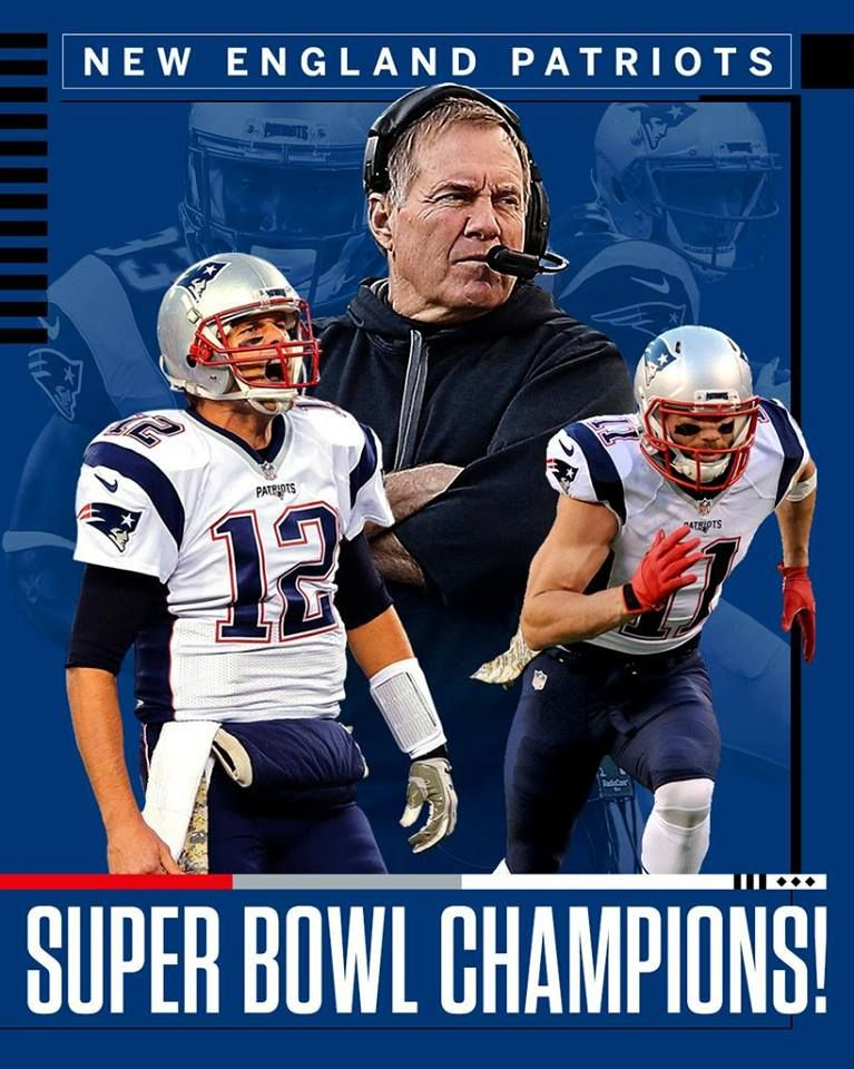 What. A. Win. The New England Patriots complete the