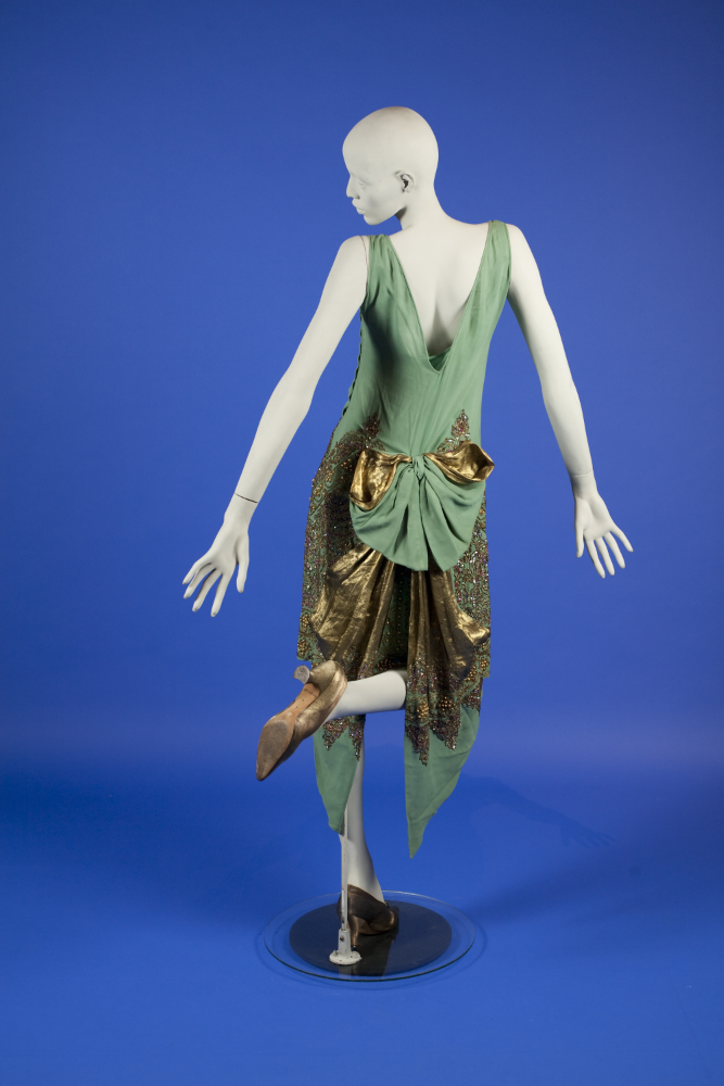 Evening dress, 1920's From the OSU Historic Costume & Textiles Collection