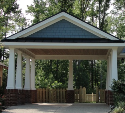2 Car Carport Built On The High End Of The Details Can Be Built Modified To Suit Home Of Choice Carport Designs Carport Patio Carport Plans