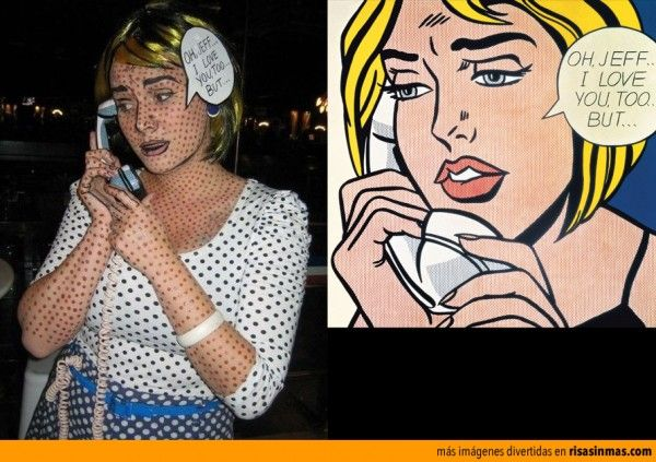 Original disfraz de Pop Art