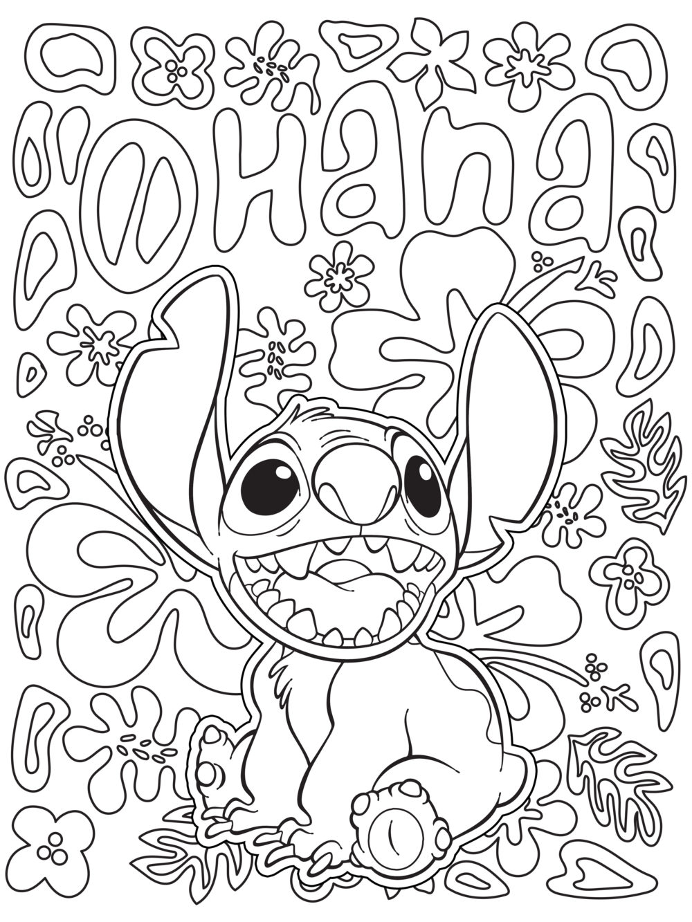 Celebrate National Coloring Book Day With Disney Style Coloringpagestoprint Stitch In 2020 Stitch Coloring Pages Free Disney Coloring Pages Disney Coloring Sheets