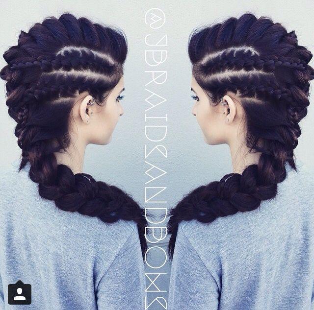 Beautiful Hair Styles Braided Hairstyles Viking Hair