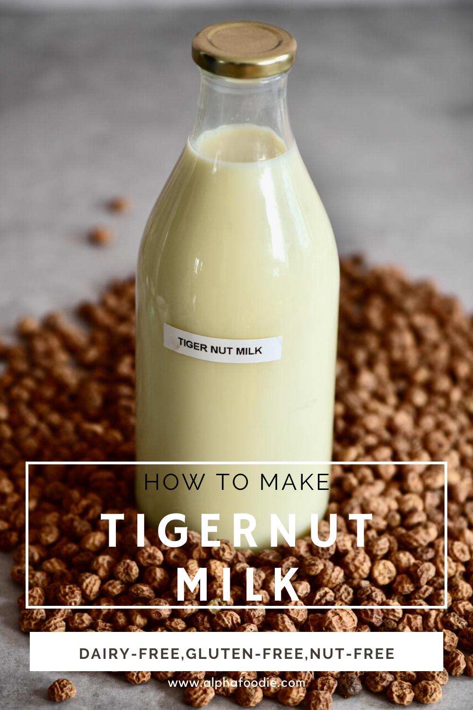 Homemade Tiger Nut Milk Horchata De Chufa Recipe In 2021 Nut Milk Nut Milk Recipe Milk Recipes