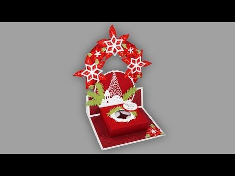 adventskranz to go bastelanleitung youtube. Black Bedroom Furniture Sets. Home Design Ideas