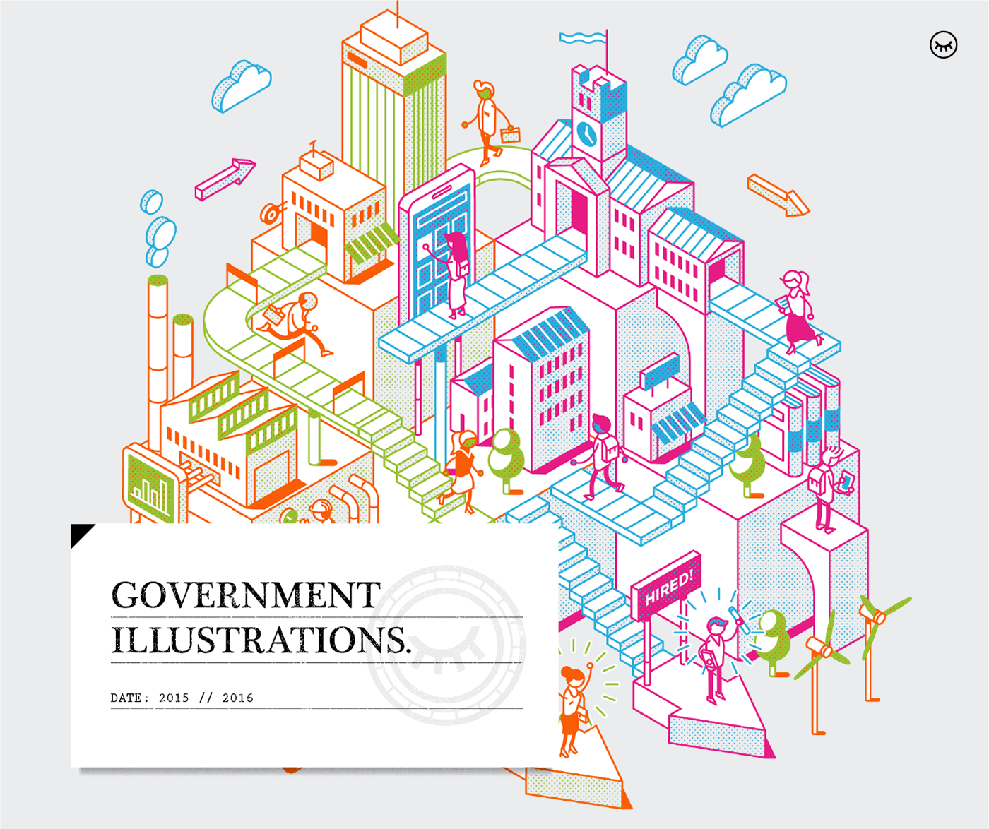 Government Illustrations on Behance