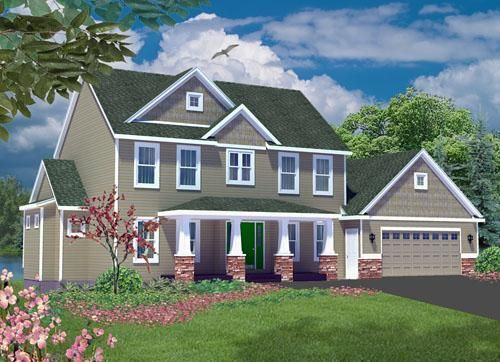 cape code house plans- I like the porch columns | Wishing ...