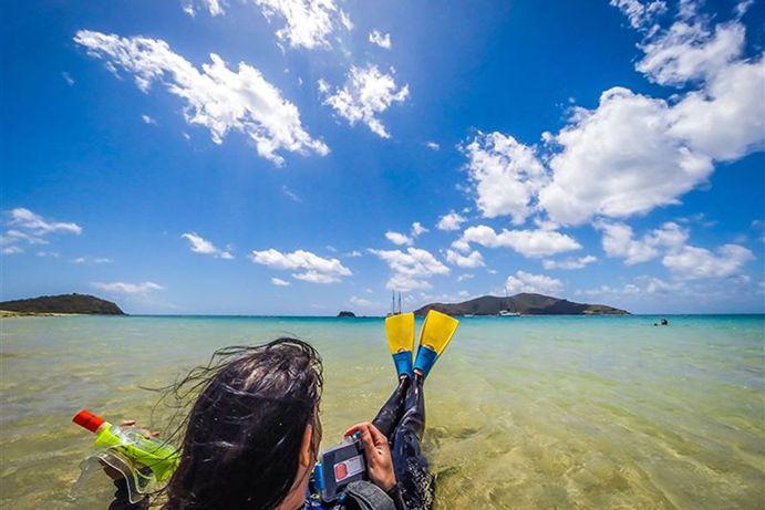 Snorkel Cruise www.parkmyvan.com.au #ParkMyVan #Australia #Travel #RoadTrip #Backpacking #VanHire #CaravanHire