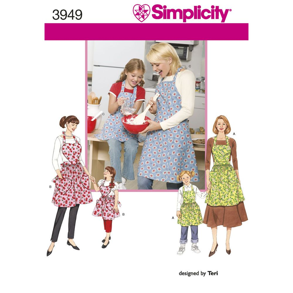 Rockabilly Küchenzubehör Create Matching Child S And Misses Aprons In Three Different