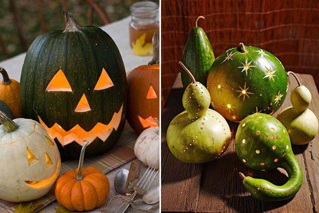 Grüßen Sie Halloween mit Spaß kreative DIY-Kürbis-Decorations12