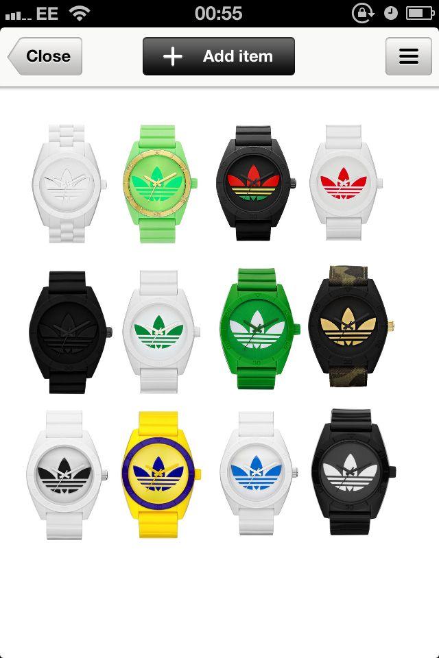 c021c0dcdc7c Adidas Santiago watches Atuendo