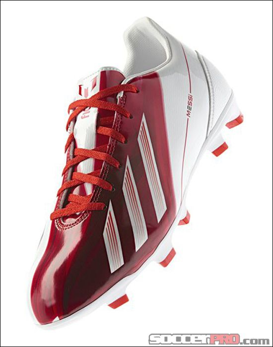 adidas Messi F30 TRX FG Soccer Cleats - Red with White... 107.99 ... fd47b026e59bb