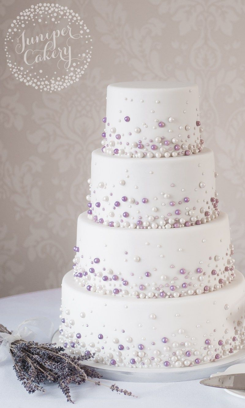 Modern Pearl Wedding Cake by Juniper Cakery … | Wedding Cakes ...