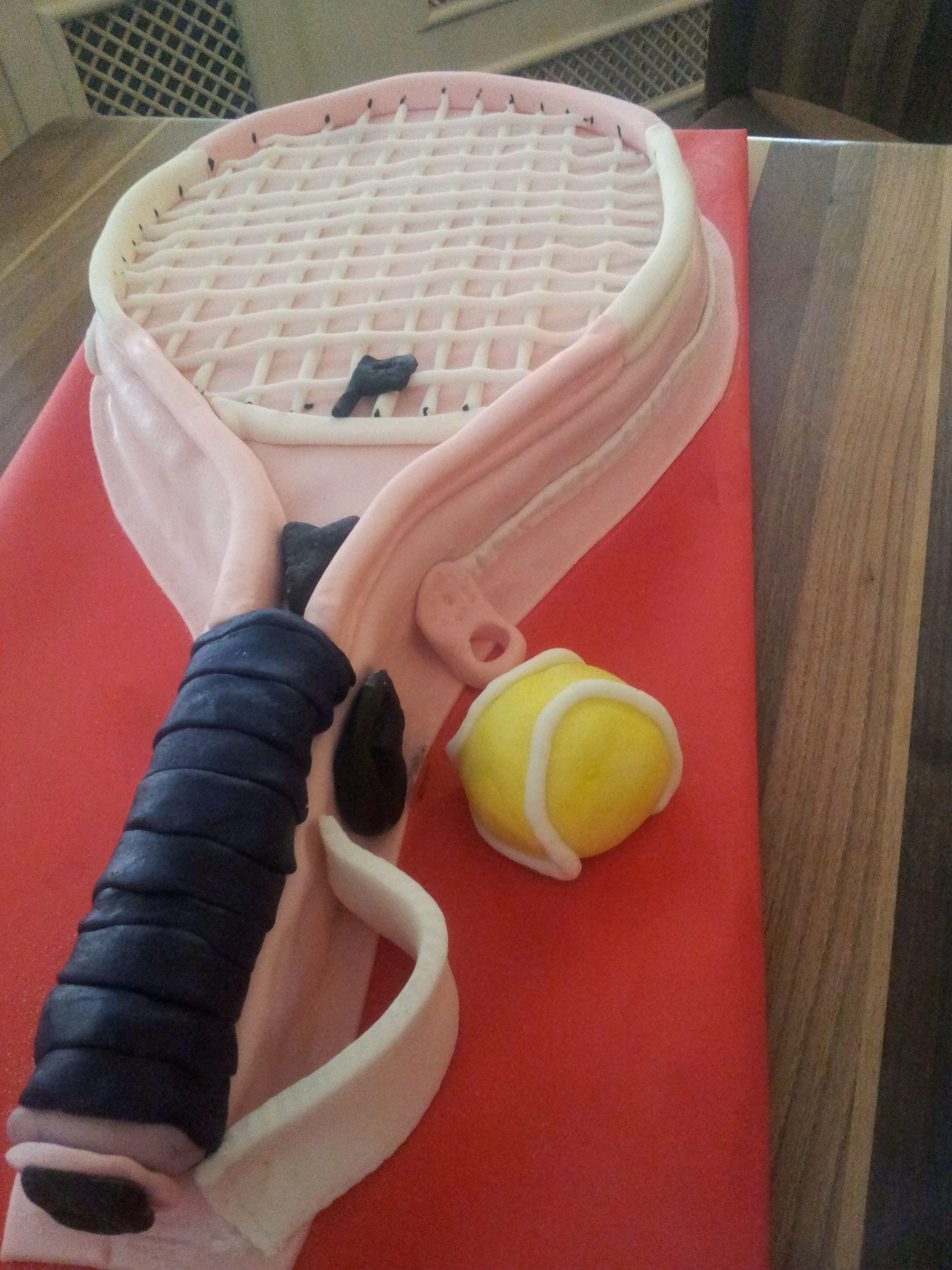 Tennis Tennis cake, Tennis gifts, Tennis party
