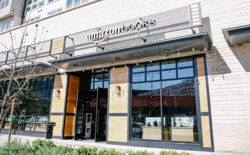 Amazon Bookstore At The Domain Austin Mall Design Architecture