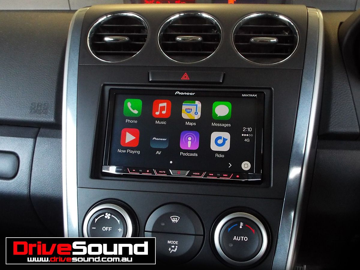 Mazda Cx 7 With Apple Carplay Installed By Drivesound Apple
