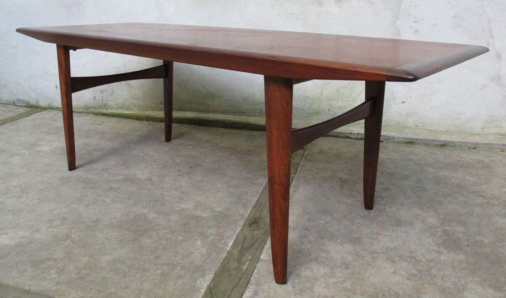 Fine Danish Modern Teak Coffee Table Sola Mobler Mid Century Pabps2019 Chair Design Images Pabps2019Com