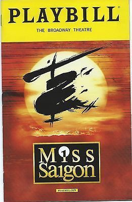 Miss Saigon Playbill Broadway Musicals Posters Miss Saigon Musical Broadway Posters