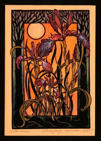 wild iris - kathleen west