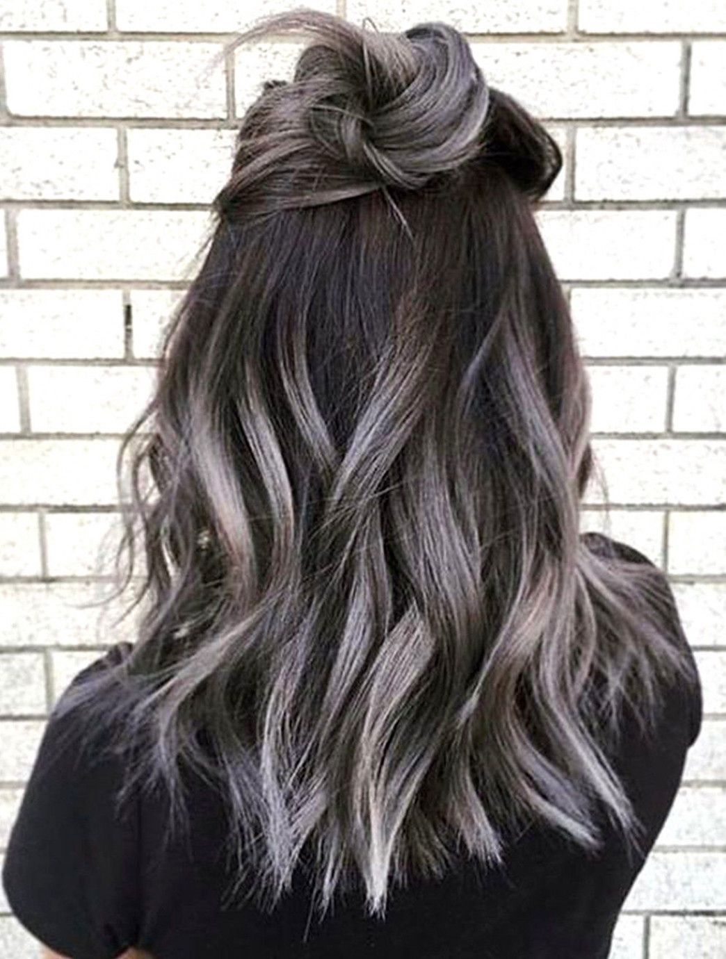 Image result for grey balayage short hair OmbreShortHair