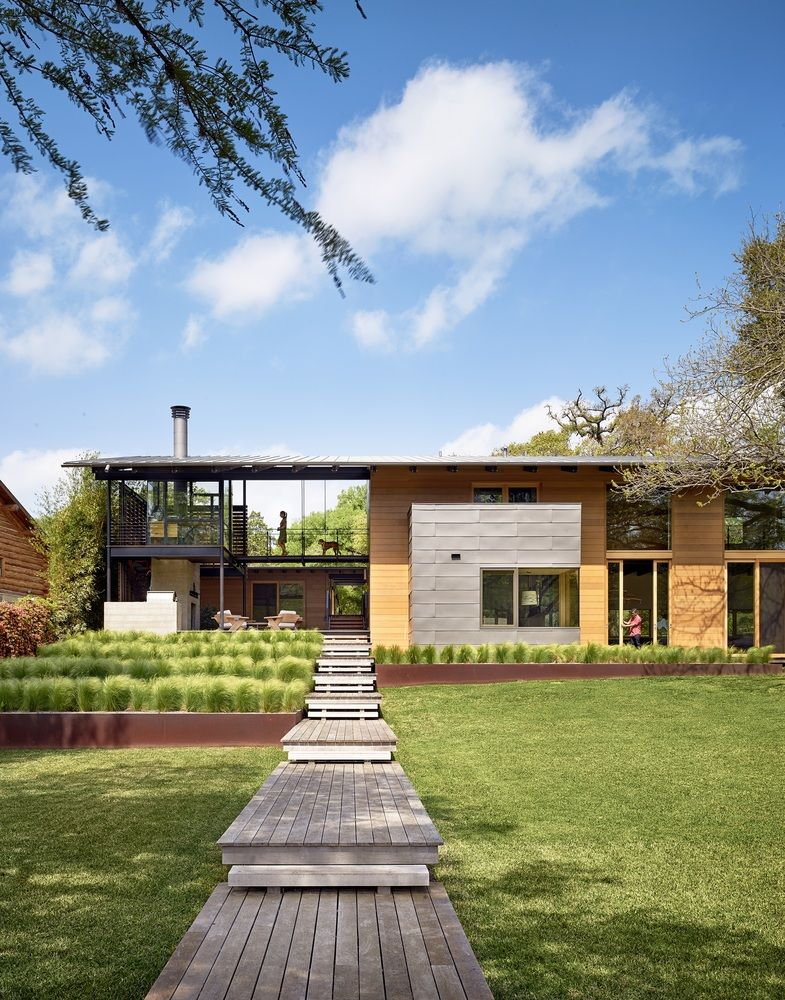 Gallery Of Aia Names 10 Best Us Houses Of 2016 9 Houses In Austin Modern Lake House Lake Flato