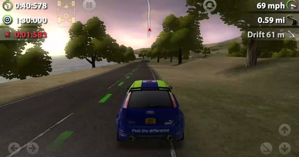 Free Download Rush Rally Game Apps For Laptop, Pc, Desktop