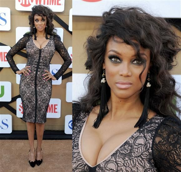 We think not Tyra!